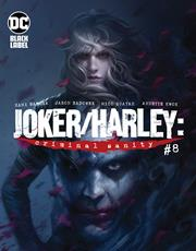 JOKER HARLEY CRIMINAL SANITY #8 (OF 8) CVR A FRANCESCO MATTINA (MR)