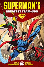 SUPERMANS GREATEST TEAM-UPS HC