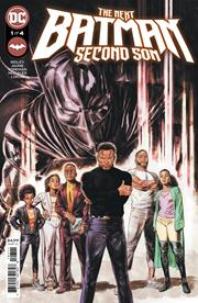 NEXT BATMAN SECOND SON #1 (OF 4) CVR A DOUG BRAITHWAITE