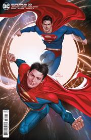 SUPERMAN #30 CVR B INHYUK LEE CARD STOCK VAR