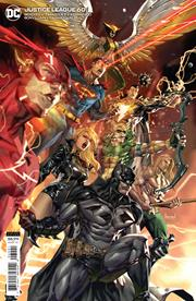JUSTICE LEAGUE #60 CVR B KAEL NGU CARD STOCK VAR