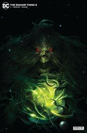 SWAMP THING #2 (OF 10) CVR B FRANCESCO MATTINA CARD STOCK VAR