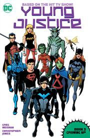 YOUNG JUSTICE BOOK 2 GROWING UP TP