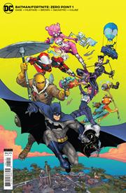 BATMAN FORTNITE ZERO POINT #1 (OF 6) CVR B KENNETH ROCAFORT CARD STOCK VAR