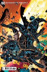 BATMAN FORTNITE ZERO POINT #3 (OF 6) CVR B JIM LEE AND SCOTT WILLIAMS  CARD STOCK
