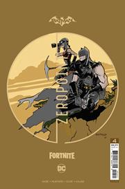 BATMAN FORTNITE ZERO POINT #4 (OF 6) PREMIUM VAR D DONALD MUSTARD CARD STOCK (25 COPY MIN ORDER)