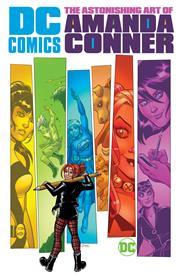 DC COMICS THE ASTONISHING ART OF AMANDA CONNER HC