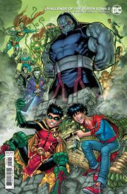 CHALLENGE OF THE SUPER SONS #2 (OF 7) CVR B NICK BRADSHAW CARD STOCK VAR
