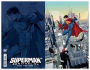 SUPERMAN SON OF KAL-EL #1 INC 1:50 JOHN TIMMS VIRGIN CARD STOCK VAR
