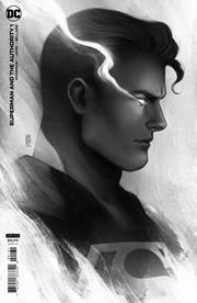 SUPERMAN AND THE AUTHORITY #1 (OF 4) INC 1:25 JEN BARTEL HEADSHOT VAR