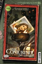 DC HORROR PRESENTS THE CONJURING THE LOVER #1 (OF 5) CVR B RYAN BROWN VHS TRIBUTE CARD STOCK VAR (MR)