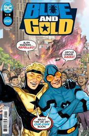 BLUE & GOLD #1 (OF 8) CVR A RYAN SOOK