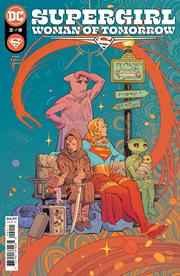 SUPERGIRL WOMAN OF TOMORROW #2 (OF 8) CVR A BILQUIS EVELY