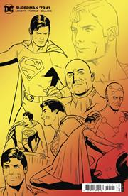 SUPERMAN 78 #1 (OF 6) INC 1:25 WILFREDO TORRES DESIGN CARD STOCK