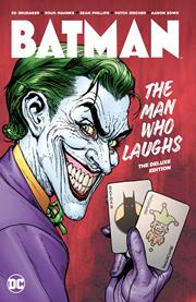 BATMAN THE MAN WHO LAUGHS THE DELUXE EDITION HC