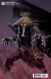 BATMAN #112 CVR B JORGE MOLINA CARD STOCK VAR (FEAR STATE)