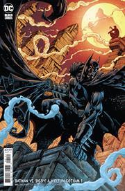 BATMAN VS BIGBY A WOLF IN GOTHAM #1 (OF 6) CVR B BRIAN LEVEL & JAY LEISTEN CARD STOCK VAR (MR)