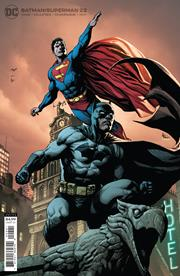 BATMAN SUPERMAN #22 CVR B GARY FRANK CARD STOCK VAR
