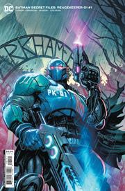 BATMAN SECRET FILES PEACEKEEPER-01 #1 (ONE SHOT) CVR B TYLER KIRKHAM CARD STOCK VAR (FEAR STATE)