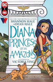 DIANA PRINCESS OF THE AMAZONS WONDER WOMAN DAY SPECIAL EDITION #1 (ONE SHOT) (BUNDLES OF 25) (NET)
