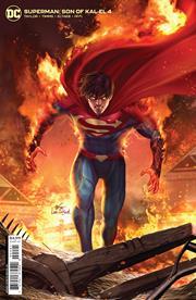SUPERMAN SON OF KAL-EL #4 CVR B INHYUK LEE CARD STOCK VAR