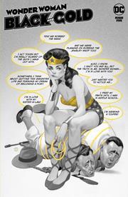 WONDER WOMAN BLACK & GOLD #5 (OF 6) CVR A JULIAN TOTINO TEDESCO