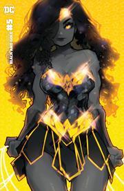 WONDER WOMAN BLACK & GOLD #5 (OF 6) CVR C INC 1:25 ROSE BESCH VAR