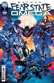 BATMAN FEAR STATE OMEGA #1 (ONE SHOT) CVR A JAMAL CAMPBELL