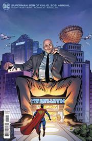 SUPERMAN SON OF KAL-EL 2021 ANNUAL #1 (ONE SHOT) CVR B STEVE PUGH CARD STOCK VAR
