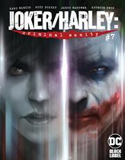 JOKER HARLEY CRIMINAL SANITY #7 (OF 8) CVR A FRANCESCO MATTINA (MR)