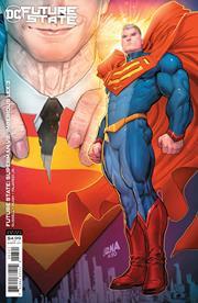 FUTURE STATE SUPERMAN VS IMPERIOUS LEX #3 (OF 3) CVR B DAVID NAKAYAMA CARD STOCK VAR