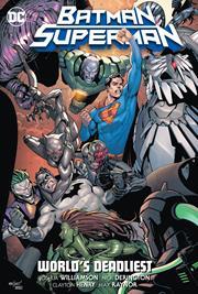 BATMAN SUPERMAN VOL 02 WORLDS DEADLIEST HC