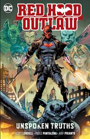 RED HOOD OUTLAW VOL 04 UNSPOKEN TRUTHS TP