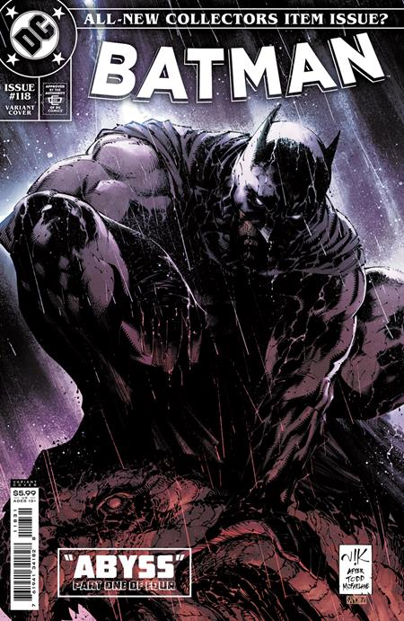 BATMAN #118 VARIANT SUPER PACK (PRE-ORDER)